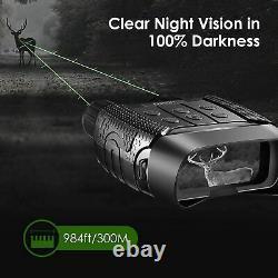 Binoculars HD Zoom Video Recording Digital Night Vision Infrared Scope IR Camera