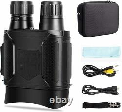 Binoculars Night Vision 7x Digital Infrared 100% Darkness w Video Camra Recorder