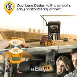 Blueskysea B2W 2CH HD 1080P Night Vision Wi-Fi Car Dash Cam Recorder For Taxi
