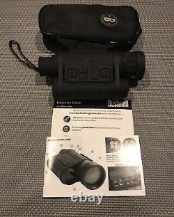 Bushnell equinox z digital night vision monocular 4.5X40mm With Recording Option