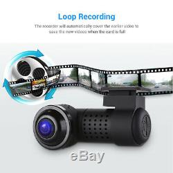 Car DVR 360 Degree Dash cam WiFi Night Vision Novatek 96660 car Video Recorder