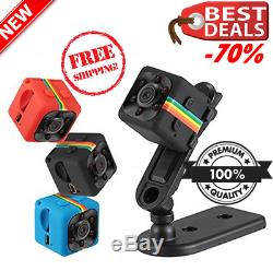 Cop Cam Security Camera 1080P Car DVR Night Vision Recorder Motion Detection New