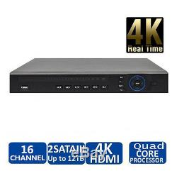 DAHUA 16 Channel 4K Security NVR 4K H. 265 1U Case Network Video Recorder Onvif