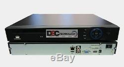 DAHUA 16 Channel 4K Security NVR 4K H. 265 1U Case Network Video Recorder Onvif