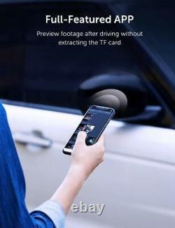 Dash Cam VAVA 4K Wi-Fi Car Dash Camera with Sony Night Vision Sensor & Recorder