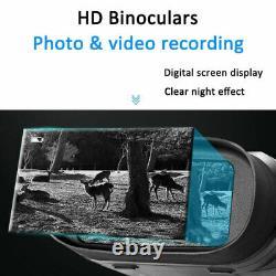 Digital IR Night Vision Hunting Binoculars Scope CAMERA Zoom Video Recorder