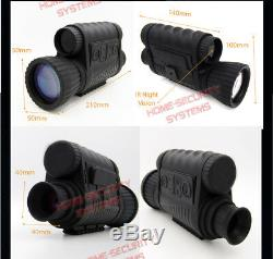 Digital Monocular NV Recorder IR Night Vision Goggles Security Camera Gen 2+