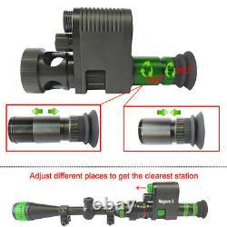 Digital Night Vision Device Riflescope Monocular Megaorei 3 IR Camcorder Record