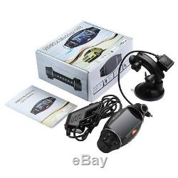Dual Lens HD 1080P GPS Vehicle Car DVR Dash Cam Video Recorder G-Sensor Camera
