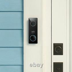 Eufy Security Wired Video Doorbell 2C, 5-Day Continuous Video Recording, No M