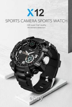 FOX12 Sport Watch Security Camera 2K 1080P P2P Wifi Hidden Video Recorder NEW