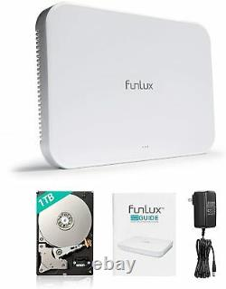 Funlux 8 Channel 720P/1080P HD Network Video Recorder with 1TB hard driver