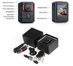 GZDL Police Body Camera with Night Vision for Law Enforcement Recorder HD 1
