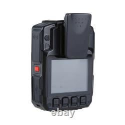 HD 1296P 33MP Body Worn Cam Camcorder 64GB Night Vision Recorder with External Len