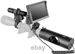 HD 720P Night Vision Scope Optics Camera Laser with IR Flashlight Video Record