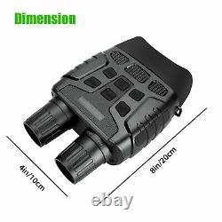HD Zoom Video Recording Digital Night Vision Infrared Binoculars Scope IR Camera