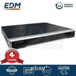 HIKVISION NVR Recorder DS-7616NI-K2/16P, PoE, 16x CH, 4K, Genuine New, UK Stock