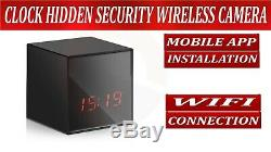 Hidden Covert Spy Camera Video Recorder Wireless Wifi 1080p Full HD Night Vision