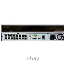 Hikvision DS-7616NI-I2-16P 16Channel 16 POE Network Video Recorder PoE CCTV 12MP