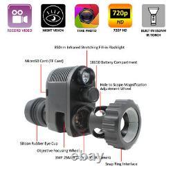 Hunting Night Vision Scope Camera Rifle Optical Sight Telescope Video Recorder