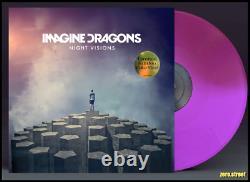 IMAGINE DRAGONS Night Visions LP on LAVENDER COLOR VINYL New SEALED purple
