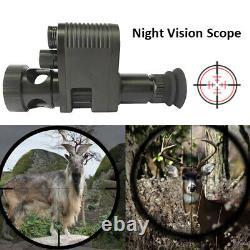 IR 850nm Night Vision Rifle Scope Video Record Hunting Optical Sight Camera