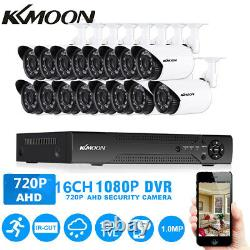KKmoon 16CH 1080P IR CCTV Security Camera System Video Recorder Night Vision USA