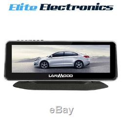 Lanmodo Car Night Vision Camera 8.2 1080P Active Infrared with Record Module
