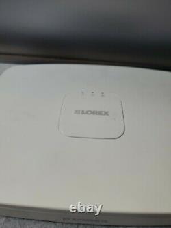 Lorex Fusion 4K HD 8Ch NVR Smart Video Camera Recorder w 1TB HD ONLY NVR READ
