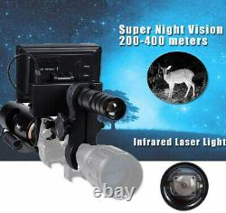 Megaorei 2 Night Vision Hunting Camera Rifle Scope + Flashlight Video Recorder