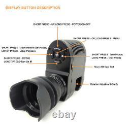Megaorei 3 Night Vision Optical Sight Camera 850nm Lase Infrared Video Recorder