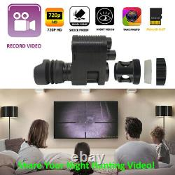 Megaorei3 720P 850nm 300m Infrared Night Vision Video Recorder Scope for Hiking