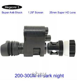Megaorei3 Night Vision Scope Video Record Hunting Camera for Rifle Optical New