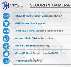Mini Night Vision Spy Security Camera Magnetic Hidden Recorder