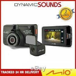 Mio Mivue 752 WIFI Dual 2.7 HD Recording GPS Car Dash & Rear Camera
