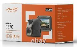 Mio Mivue C570 2 Car GPS Dash CameraFull HD 1080p Video RecordingG-Sensor