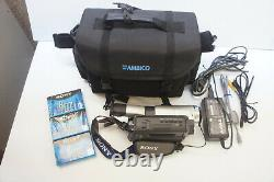 NICE! Sony Handycam Vision CCD-TRV608 Hi8 Video Camera Recorder Camcorder