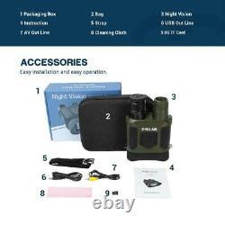 Night Vision Binocular Digital Infrared Scope HD Photo Camera Video Recorder