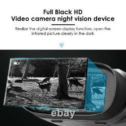 Night Vision Binoculars Goggles HD Digital Infrared Hunting Record Photo Video