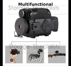 Night Vision Monocular Optics Digital Camera Hunting Binocular Security Recorder