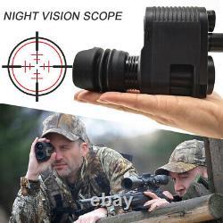 Night Vision Rifle Scope Video Record Hunting Camera 850nm Lase IR(Mesopic Ver.)