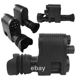 Night Vision Rifle Scope Video Record Hunting Optical Sight Camera 850nm Lase IR