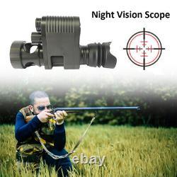 Night Vision Rifle Scope Video Record IR 850NM Hunting Camera Laser Telescope