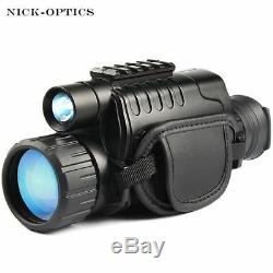 Night Vision infrared Digital Video recorder Scope for Hunting Telescope long ra
