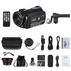 ORDRO AC3 4K WiFi Digital Video Camera Camcorder DV Recorded IR Night Vision