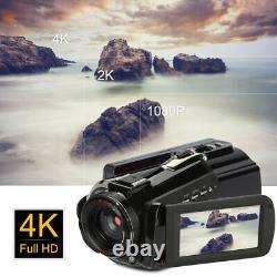 ORDRO AC3 Camcorder 4K HD WiFi Digital Video Camera 24MP 30X Zoom IR DV Recorder