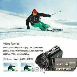 ORDRO AC3 Digital 4K Camera WiFi Professional Infrared Video Camcorder Recorder