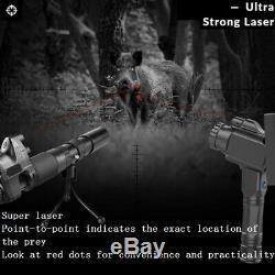 PARD NV007 16mm Night Vision Rifle Scope 1080p HD Recording 850nm IR Torch