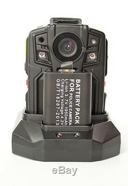 PatrolEyes HD 1080P GPS Infrared Night Vision Police Body Camera Recorder 32GB