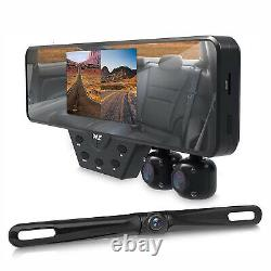 Pyle PLCMDVR54 Dash Cam Car Video Recording System with 1080P Night Vision Camera